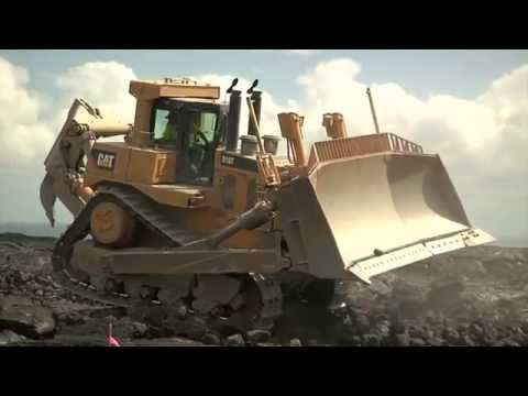 Constructing the Chain of Craters Road on the Big Island of Hawaii
