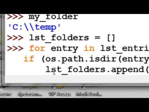 Python OS Path