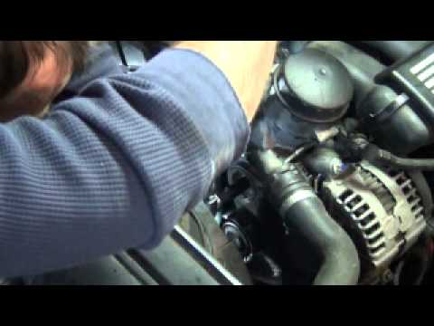 BMW 3 Series E90 Belt And Tensioner Replacement DIY