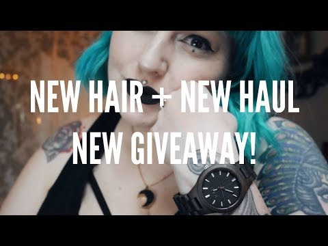 New Hair + New Haul + New GIVEAWAY!!