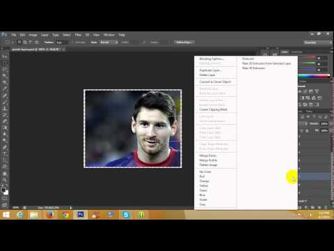 How to Cut Image In Puzzle Pieces In Photoshop - Tutorial