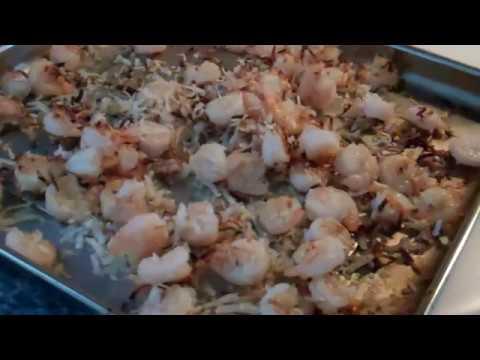 Broiled Lemon Coconut Shrimp