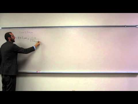 Covert Centimeters to Inches (cm to in) 002