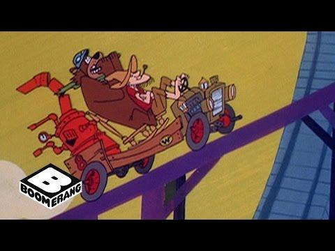 Wacky Races | Roller Coaster Detour | Boomerang