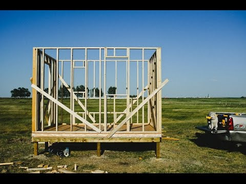 Chicken Coop Build - Trusses and Walls