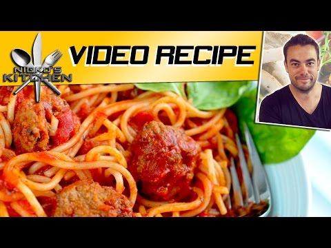How to make Spaghetti & Meatballs p1