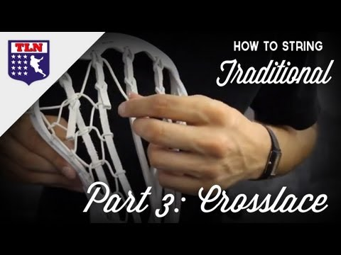 How to String Traditional Part 3: Crosslace
