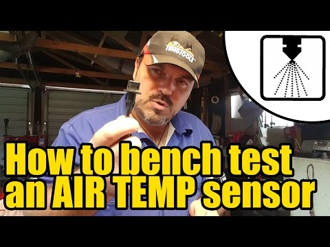 How to test an Air Temperature Sensor #1205