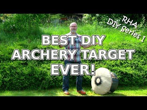 BEST DIY ARCHERY TARGET EVER!