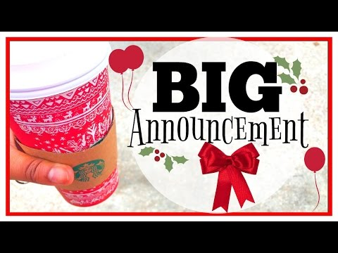 I've Got a BIG Announcement!!! | Vlogmas Day 3