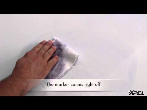 Permanent Marker Versus XPEL Paint Protection Film Clear Bra