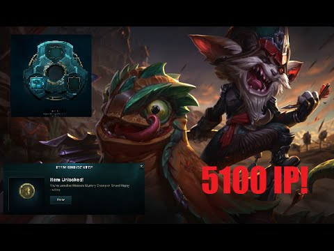 League Of Legends: How to unlock Kled for 5100 ip! (Only if you own all previous champs)