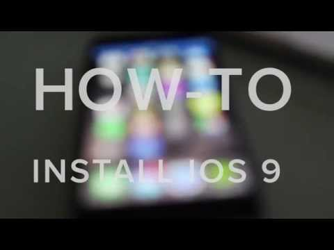 INSTALL IOS 9 BETA FREE!  Without IDID