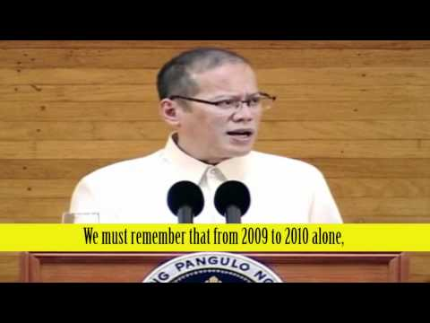 Philippine President Benigno Aquino III: Be Part of the Solution, Not the Problem  - SONA Part 3 - 3