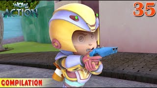 Vir : The Robot Boy | Vir Action Collection - 35 | Action series | WowKidz Action