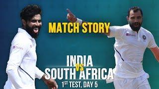 IND v SA, 1st Test, Match Story: Jadeja-Shami drive India home   Protea fightback