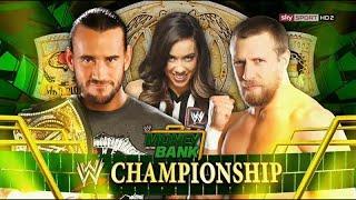 WWE Money In The Bank 2012 ► Daniel Bryan vs CM Punk [OFFICIAL PROMO HD]