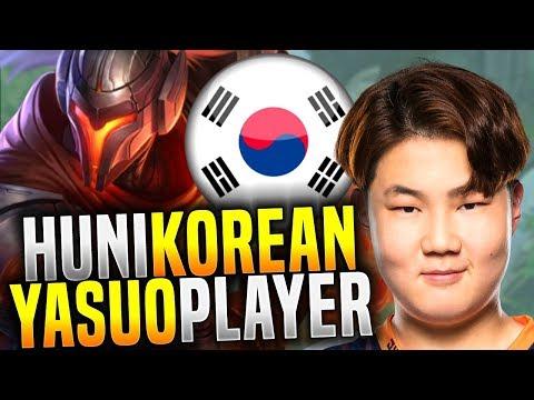 Huni is Back to Korea with Yasuo! - FOX Huni Picks Yasuo Top! | Be Challenger
