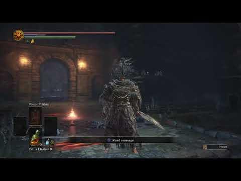 Dark Souls III  Rare Battle Vs Hawkwood + rewards see script and get the dragon stones!