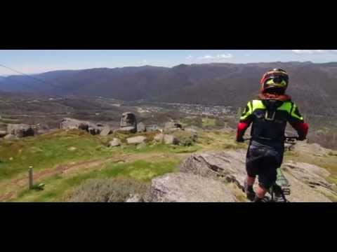 Mountain Biking in Thredbo. Ride on top of Australia