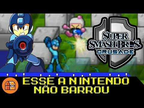 ESSE JOGO A NINTENDO AINDA NÃO BARROU - Super Smash Bros Crusade