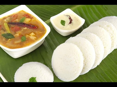 Idli from Idli Rava Indian Breakfast Recipes @ Guru's Cooking
