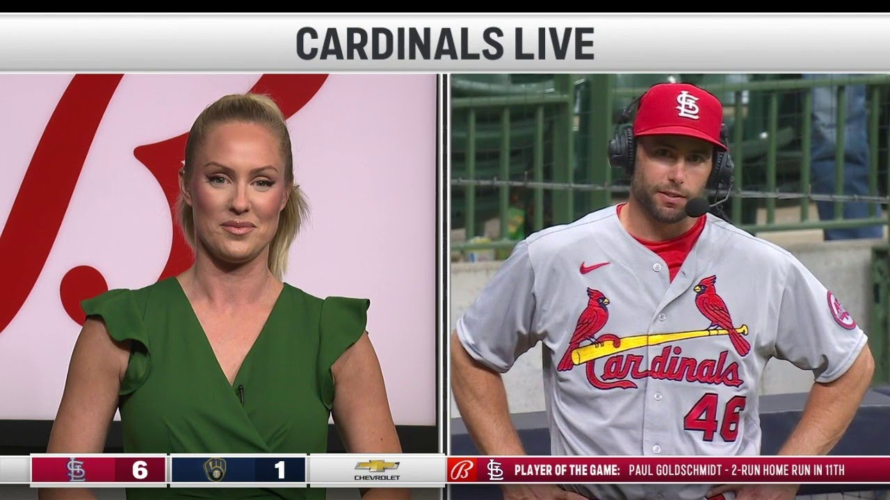 Goldschmidt: 'I'm just thankful teammates picked me up' against Brewers