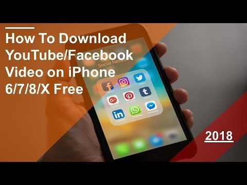 How To Download YouTube or Facebook video on iPhone 4s/5/6/7/8/X