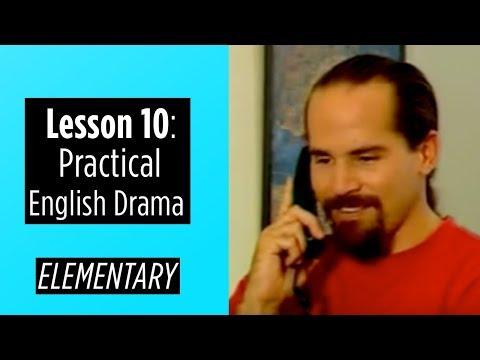 Elementary Level - Lesson 10 - Practical English Drama