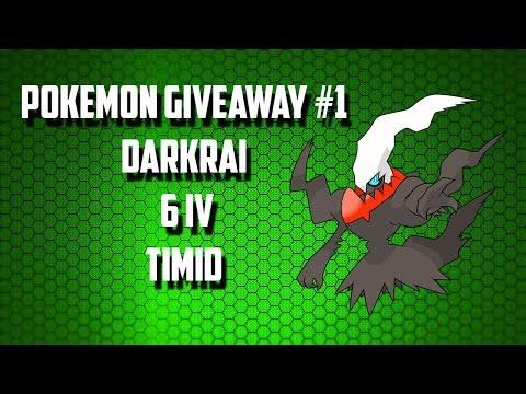 Pokemon Omega Ruby / Alpha Sapphire Giveaway - Shiny 6V Darkrai's - CLOSED