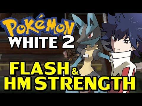 Pokémon WHITE 2 (Detonado - Parte 6) - Treinamento Infinito, Flash e Strength