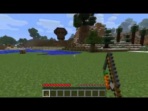 Minecraft Tutorial - How To Make A Carrot on a Stick