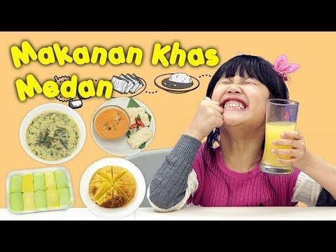 KATA BOCAH tentang Makanan Khas Medan (Bika Ambon, Pancake Durian, Roti Jala) | #29