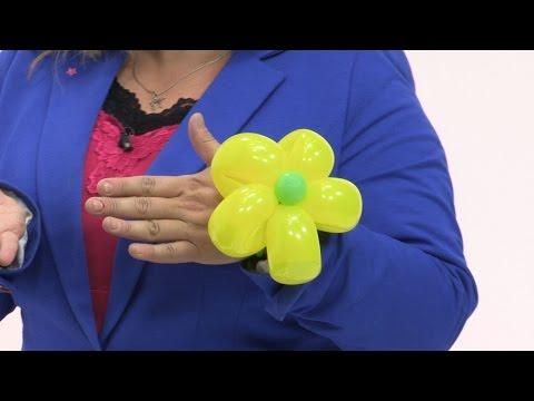 Balloon Flower Bracelet - Balloon Animals Tutorial