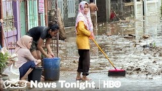 A Sinking Indonesia & New Workplace Harassment Laws: VICE News Tonight Full Episode (HBO)