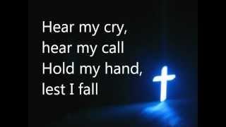 Precious Lord Take My Hand with lyrics