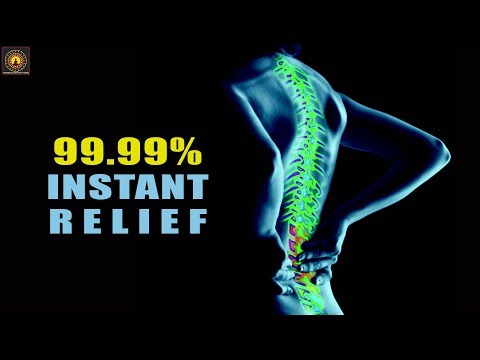 EXTREMELY POWERFUL ! Lower Back Pain Relief Binaural Beats - Lower Back Pain Relief