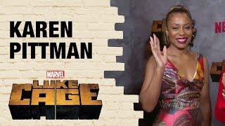 Karen Pittman on how Priscilla Ridleysupports Misty Knight in Marvel
