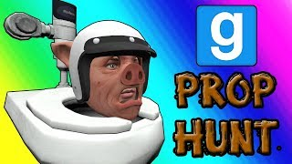 Gmod Prop Hunt Funny Moments - Panda Po-ops With Laughter (Garry