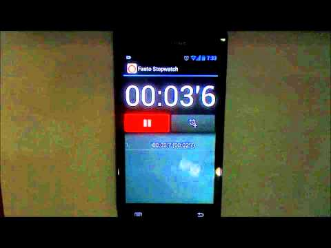 Fasto Stopwatch Android