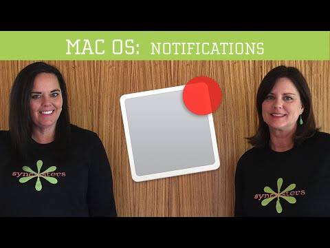 Notifications - Mac OS