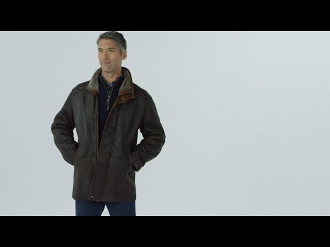 World's Finest Shearling & Leather Coat