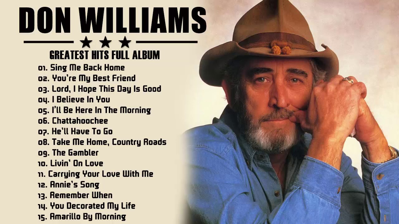 Don Williams Greatest Hits Collection Full Album HQ