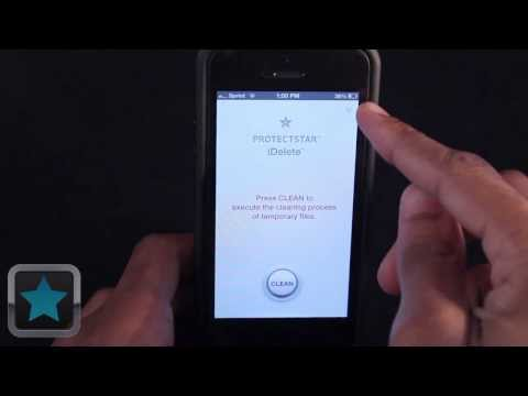 ProtectStar iDelete (temp file cleaner) for iPhone/iPad/iPod - App Review by TechBytes