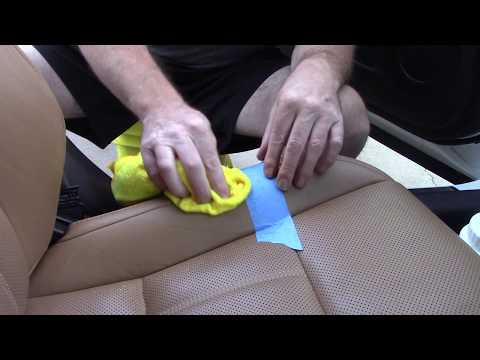 Amazing Cleaner For Car Leather - And Cheap!