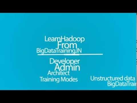 Bigdata/Hadoop  Training In Bangalore