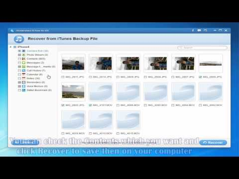 Recover Data from iPhone Internal Memory Card