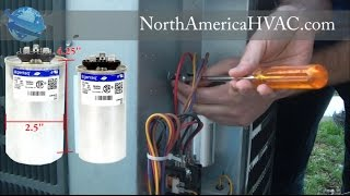 How To Replace A Capacitor Hvac Ac Capacitor Replacement