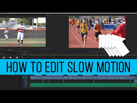 Create and Edit Slow Motion Video from Sony a6300, a7sii, a7rii (Premiere Pro)