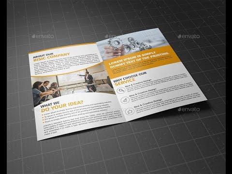 Corporate Bifold Brochure Template Vol 03